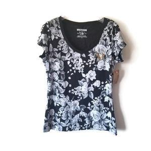 NWT True Religion shirt floral sz Large